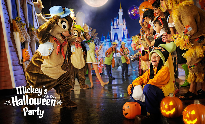 Halloween In Disney Florida.Mickey S No So Scary Halloween Party 2 Nights At Westgate