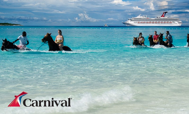 CARNIVAL LIBERTY Bahamas Cruise Package Including Orlando Resort Stay - Bahamas in december