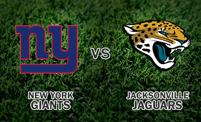 New York Giants Vs Jacksonville Jaguars
