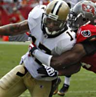 new orleans saints vs. tampa bay bucs