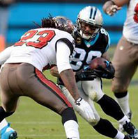 carolina panthers vs. tampa bay bucs