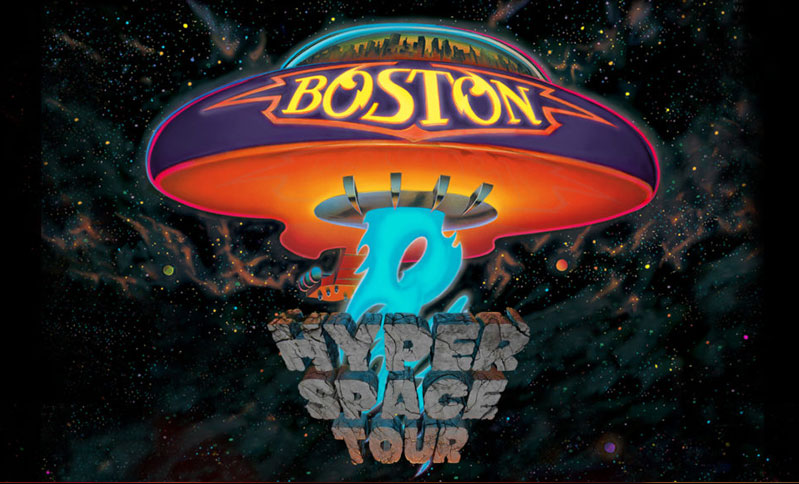 Boston Hyperspace Tour With Special Guest Night Ranger June