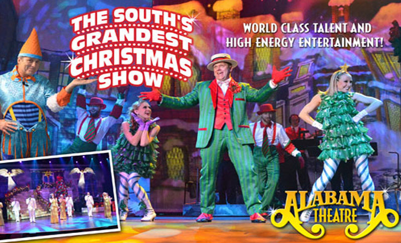 enjoy the souths grandest christmas show at the alabama theater plus 3 nights at westgate myrtle beach oceanfront resort