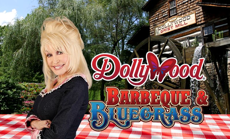 Dollywood theme park's BBQ and Bluegrass Festival plus 3