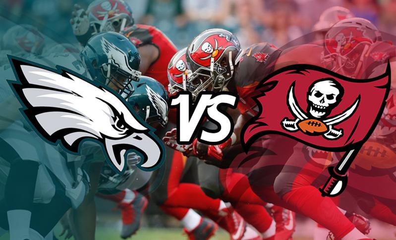 89354c82aa5 NFL action live in Florida. Philadelphia Eagles vs Tampa Bay ...