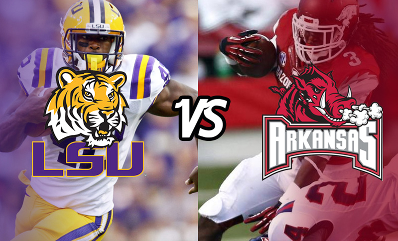 LSU Tigers Vs Arkansas Razorbacks Plus Nights At Westgate