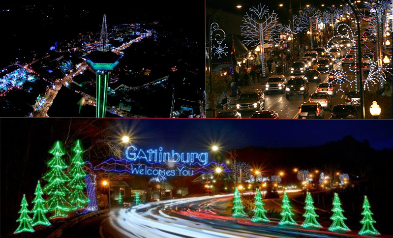 Gatlinburg Christmas.Gatlinburg Trolley Ride Of Lights Westgate Events