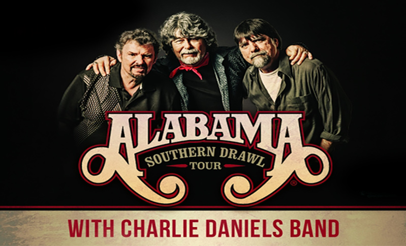 Alabama & Charlie Daniels - Westgate Events